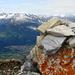 Farbtupfer auf dem Gipfel des Glegghorns