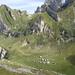 und dann der Blick runter auf die Meglisalp (im Hintergrund u.a. Marwees, die steht nächstes Jahr auf dem Programm)