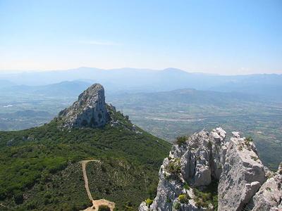 Blick vom Gipfel des Monte Oro zum Monte Scoine