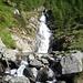 una delle cascate della zona