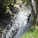 Wasserfall oberhalb der Schöpfe