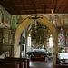 St. Georg von innen