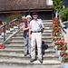 unser Wanderleiter-Ehepaar Edith und André