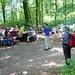 dann Picknick beim Rastplatz Ischlag mit Fototermin