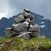 Gipfelsteinmann Rossalpelispitz