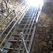 Leiter zum höchsten Punkt Neu Falkensteins