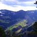 Einblick in die eindrückliche Habrütispitz-Ostwand (Bildmitte)