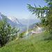 Regenbogen vom Suonenregen