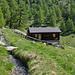 Hütte auf Alp Joli