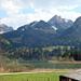 Start und Endpunkt, Schwarzsee Bad, Bildmitte Spitzflue
