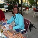 Orgie de crevettes chez l'incontournable Dinko, à Paklenica