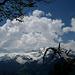 Cumuli über dem Pizol – Ausblick vom Ghudlet Gonzen