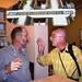 Hanspeter im Ofenhorn (hier mit unserem Wanderleiter) war da flexibler