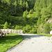 Parcheggio a 1490mt prima dell' Alp de Bec