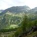 Verso nord, percorso per Alp e lago di Calvaresc