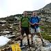 Foto ricordo al Pass de Buffalora 2268mt, la massima altitudine oggi