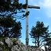 Gipfelkreuz Chrummhorn - der erste Gipfel ist geschafft