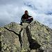 Siby am Gipfel