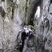 Bereits kurz vor dem Ausstieg (mit Blitz fotografiert!) In der Höhle ist es Bockfinster!