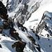 Aufstieg auf die Dufourspitze vom Grenzsattel (III)