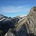 … und hier ist er, der Grat! Einer der seinesgleichen sucht in den Alpen!