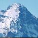 Mit Zoom : Eiger, Lauper-Eisschild