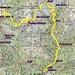 Lo sviluppo dell'anello percorso: km 18,63 - dislivello salita 1817 - dislivello discesa 2135.   Da Brione  al Ponncione D'Alnasca,h 3:10-   Poncione D'Alasca  Verzoo h.4:15