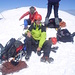 Ich ([u mali]) und Christine auf dem Gipfel.
