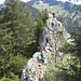 über einen Felszacken - eine hübsche kurze Passage
