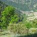 In der Talsohle das Dorf Beuson