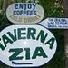 Bei der Taverna Zia befindet sich auch der 'originale Wanderweg'!