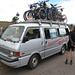 Vielversprechendes Verkehrsmittel für das Erreichen von Mandoto, dem Anfangspunkt der Tour