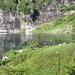 """Lago d'Efra: davanti a queste sponde viene spontaneo affermare: """"il paradiso può attendere""""..."""
