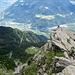 Tiefblick in den Vinschgau und das Burggrafenamt