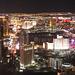 Nach der Tour - Nächtlicher Blick vom Stratosphere Tower auf Las Vegas.