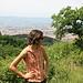 im Aufstieg, hinten Prato