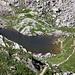 Dal Passo di Verrobbio l'omonimo laghetto.