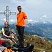Auf dem Gipfel des Brünnelistock 2133m