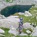 Salita sopra il lago Melo