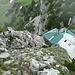 Steig vom Buchstein runter zur Hütte