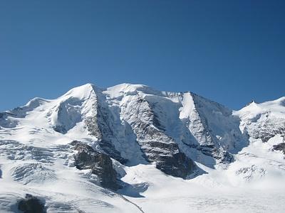 Einer der schönsten Gletscherberge überhaupt ... bei Traumbedingungen