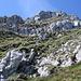 Der Abstieg in der Ostflanke der Kaiseregg 2185m