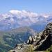 Abstieg zu Pt. 2483 im oberen Nanztal