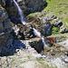 Die Heido nimmt Wasser von einem Seitenbach auf
