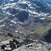 Cuogiola et son lac vu du sommet