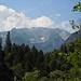der erste Blick auf die Berge