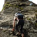 Pasci in der Kletterstelle beim Metzgerchällen