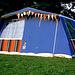 Zelt im Schloßpark Romanshorn