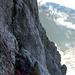 Sacco am Standplatz, hinten der Grindelgrat