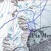 Particolare del tracciato della salita al Piz Medel